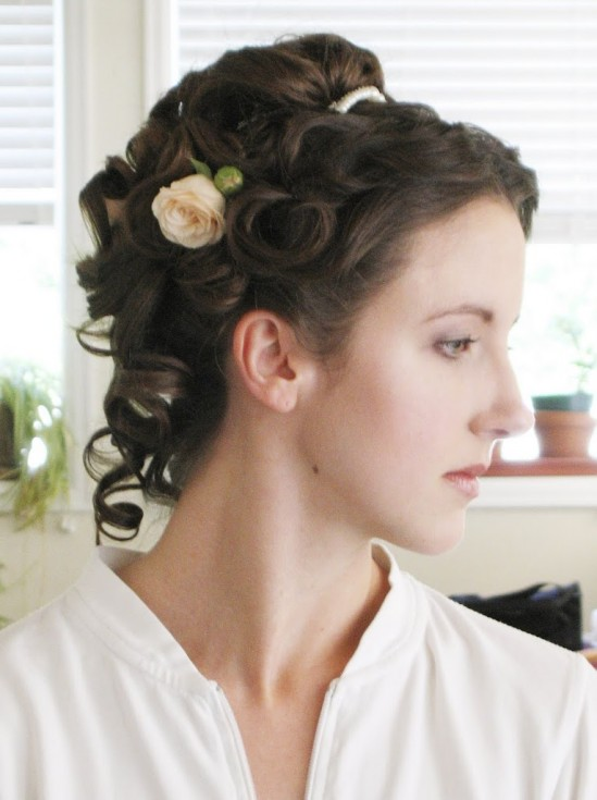 Tremendous Victorian Wedding Hairstyle Tutorial Reader Request Bobby Pin Short Hairstyles Gunalazisus