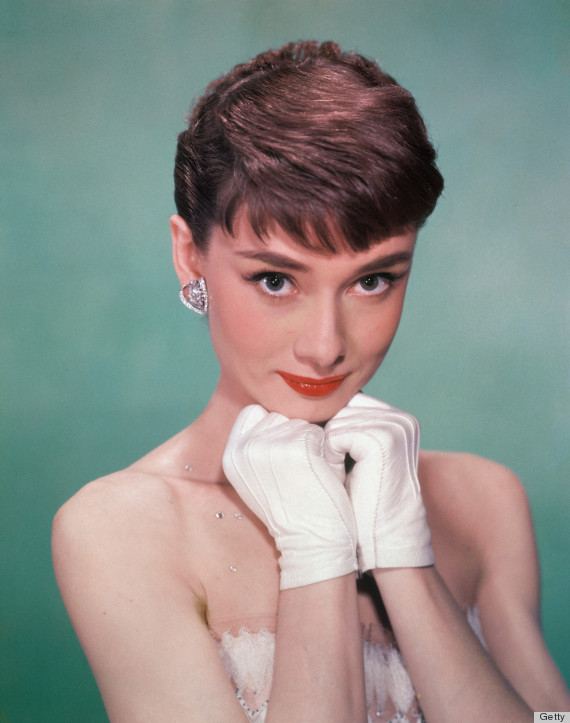 audrey hepburn white gloves
