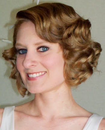 1930s Wedding Hairstyle With A Modern Twist Bobby Pin Blog