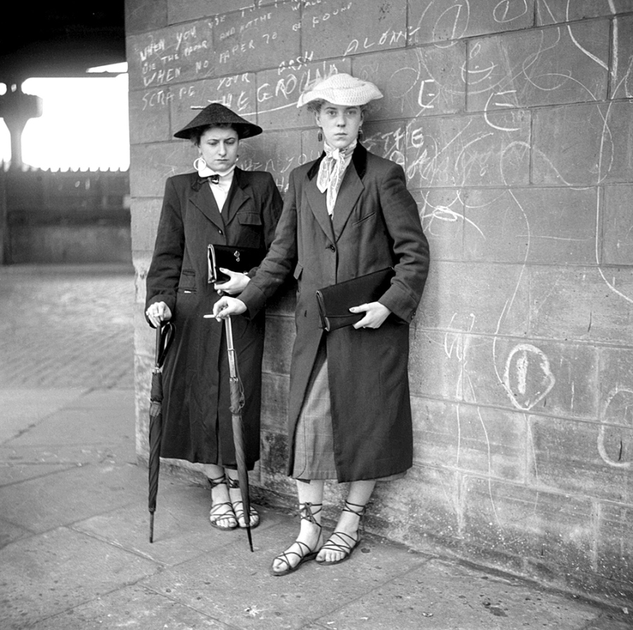 Teddy Girls Of The 1950s Rocking The Gibson Girl Of The