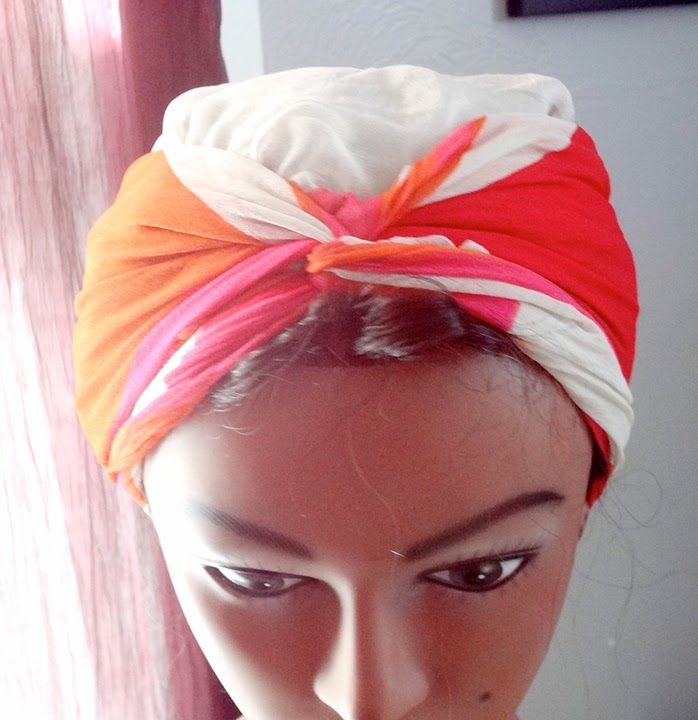 So Apparently I like Turbans   So Here's a Tutorial on Tying