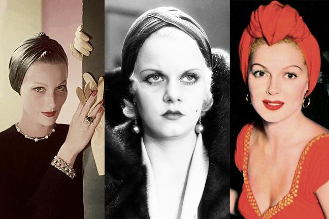 vintage-turban-lana-turner-jean-harlow-red-lipstick