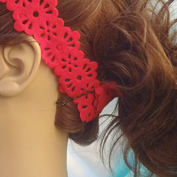 Brigitte bardot hair headband