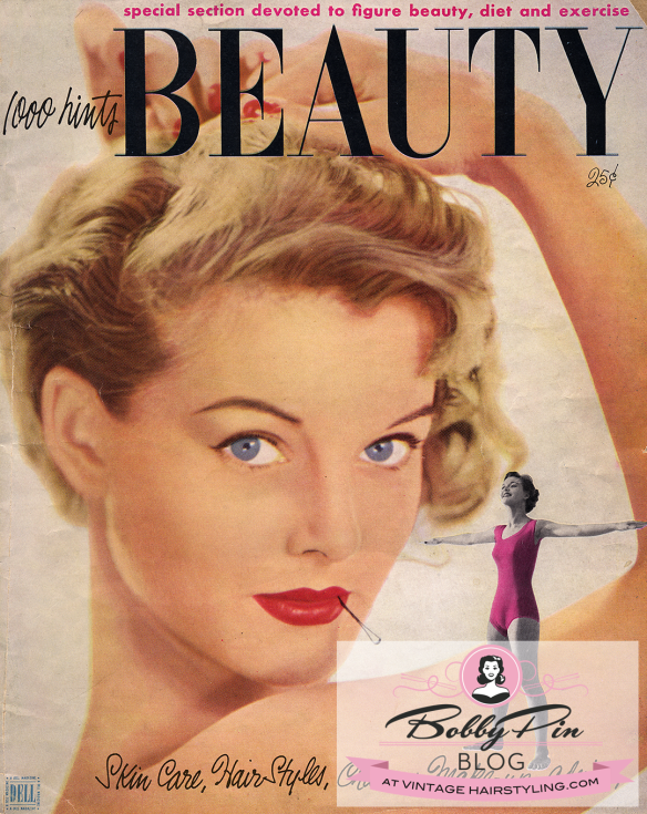 1952 1 000 Hints Beauty Magazine Make Up Makes You Lovelier Bobby Pin Blog Vintage Hair And Makeup Tips And Tutorials