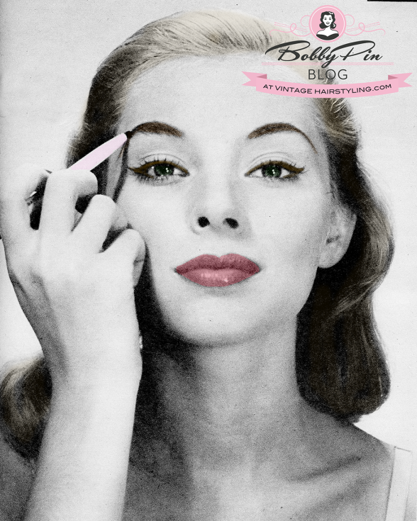 Vintage_Eyebrows_Makeup_1950s_pinup_blond