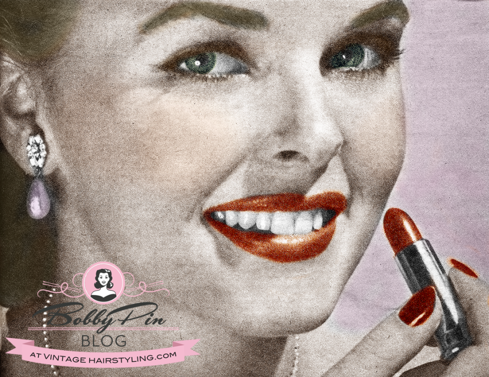 1952 1 000 Hints Beauty Magazine Today S Lesson Lipstick