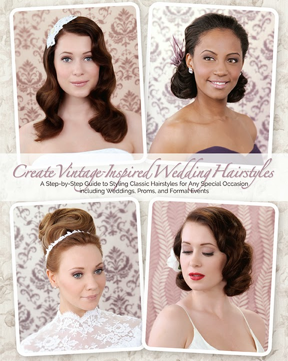 Create Vintage Inspired Wedding Hairstyles