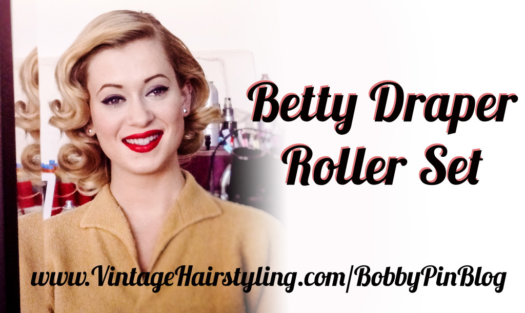 Betty Draper Inspired Hairstyle How To Bobby Pin Blog