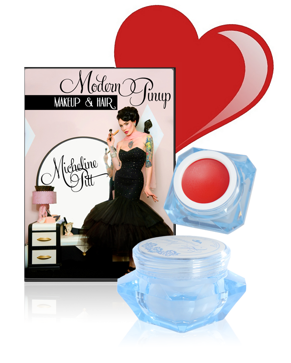 Valentine's Day Pin Up Makeup Sale Items