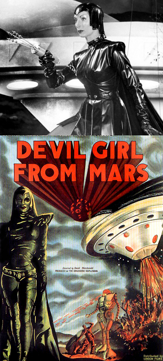 Devil Girl from Mars atompunk atomicpunk