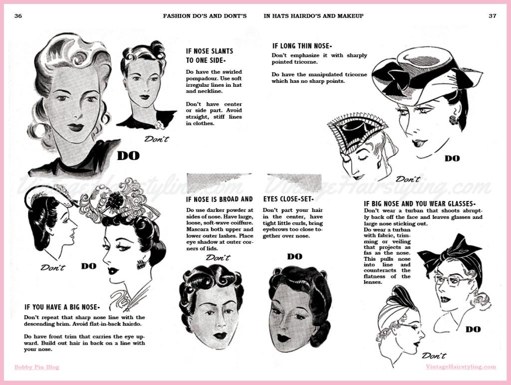 hats  hairdo u0026 39 s  makeup   vintage hair and