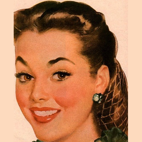 1940s Easy vintage hairstyle tutorial