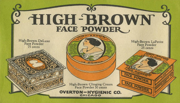 Vintage Makeup For Darker Skin Tones Foundations And Face Powders - 1920s-makeup-ads