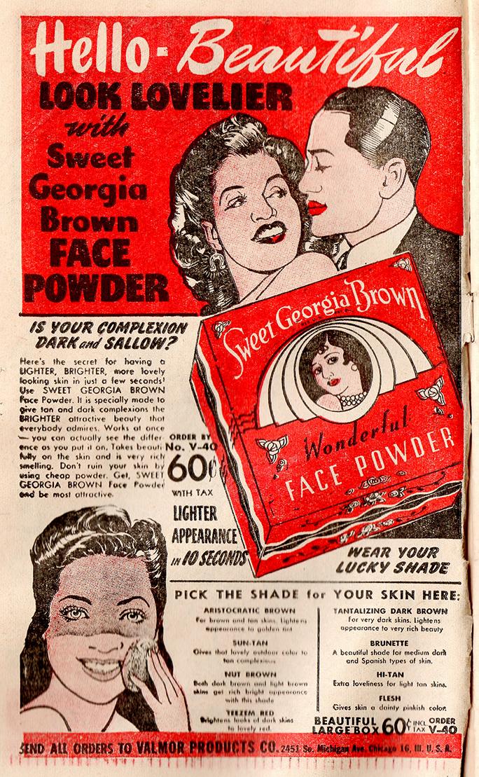 Vintage Makeup For Darker Skin Tones Foundations And