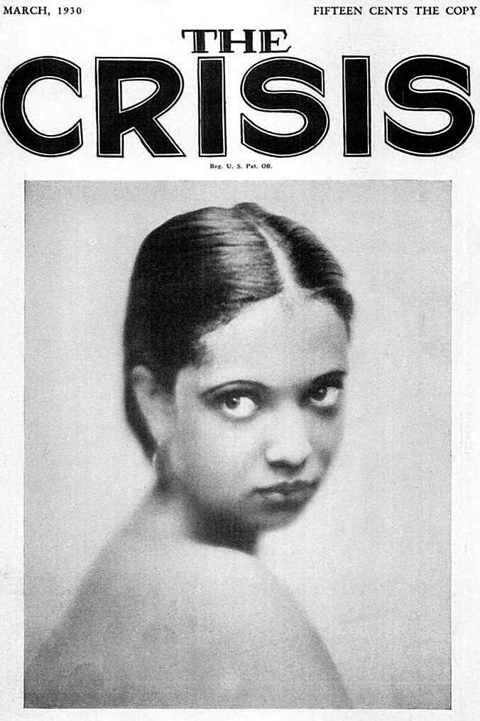 crisis magazine nina mae mckinney 1930s