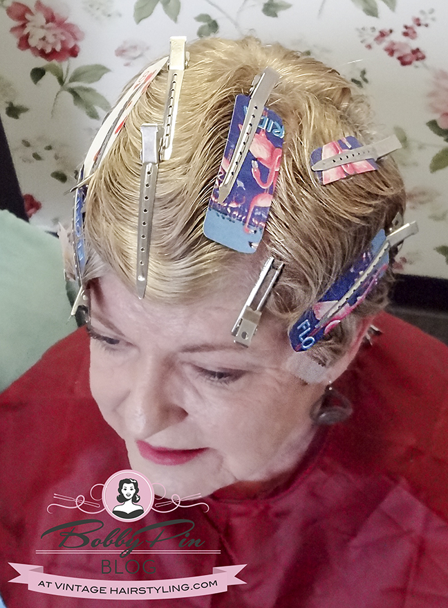 Short hair fingerwave vintage hairstyle 1920s 1930s Great Gatsby wedding mother of the bride03