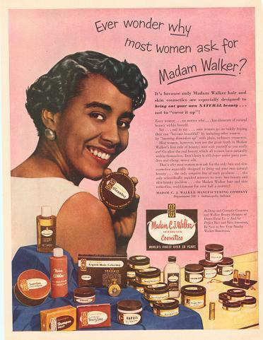Vintage Makeup For Darker Skin Tones During The Atomic Age