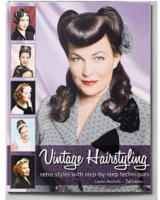 Outstanding Vintage Hairstyling Vintage Amp Pinup Hair Tutorial Book Short Hairstyles For Black Women Fulllsitofus