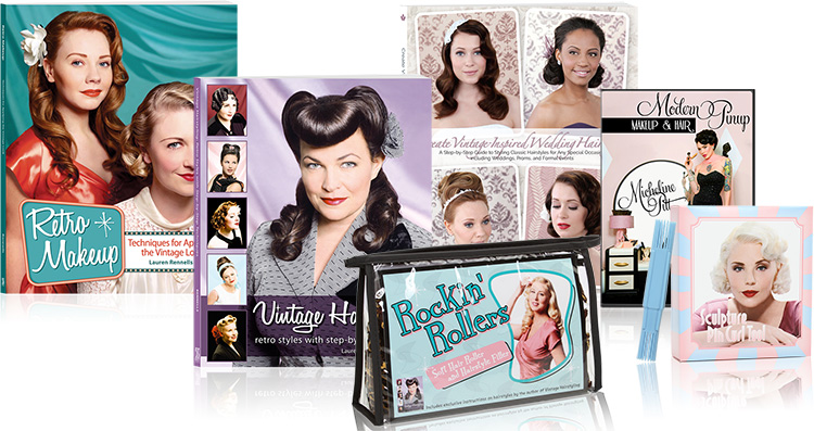 wholesale vintage beauty books and tools