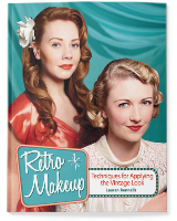 Retro Makeup: Tutorial book about retro pinup makeup