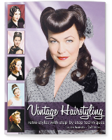 Vintage Hairstyling: Tutorial book about vintage hairstyling