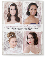Vintage Hair Tutorial book about vintage red carpet, wedding & prom